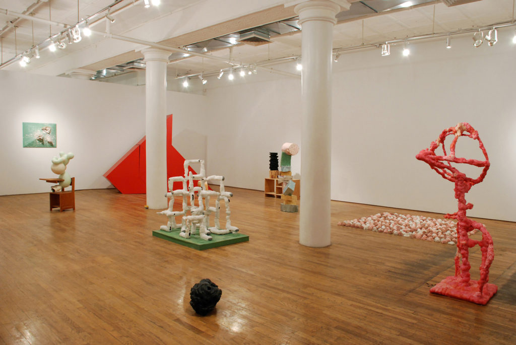 Sculptures 2009 art by Aaron King Guild & Greyshkul, New York, New York Installation VIew