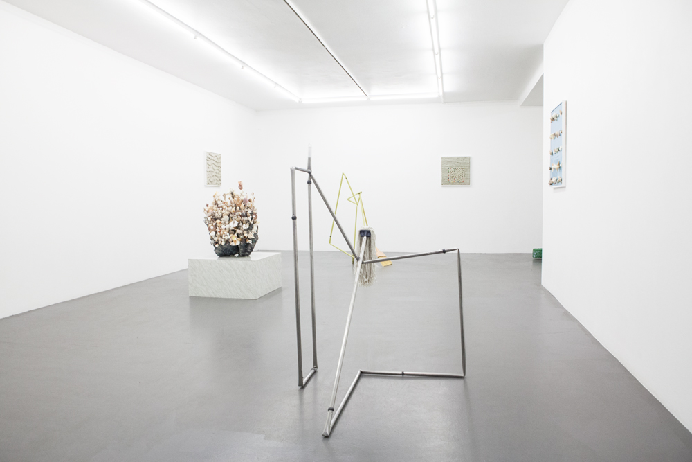 Additives 2014 art by Aaron King NIklas Bilenius Gallery Stockholm, Sweden Installation View