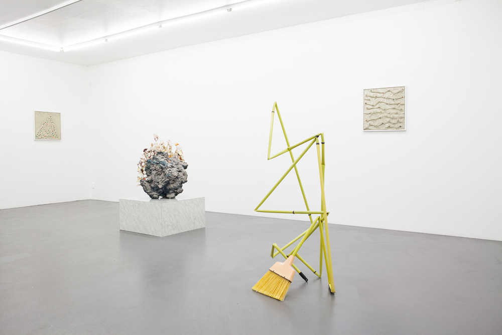 Additives 2014 art by Aaron King NIklas Bilenius Gallery, Stockholm, Sweden Installation View