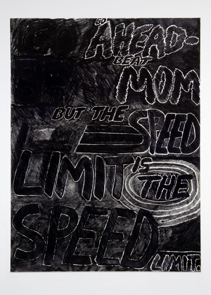The Law 2020 Drawing by Aaron King Art 18''x24''