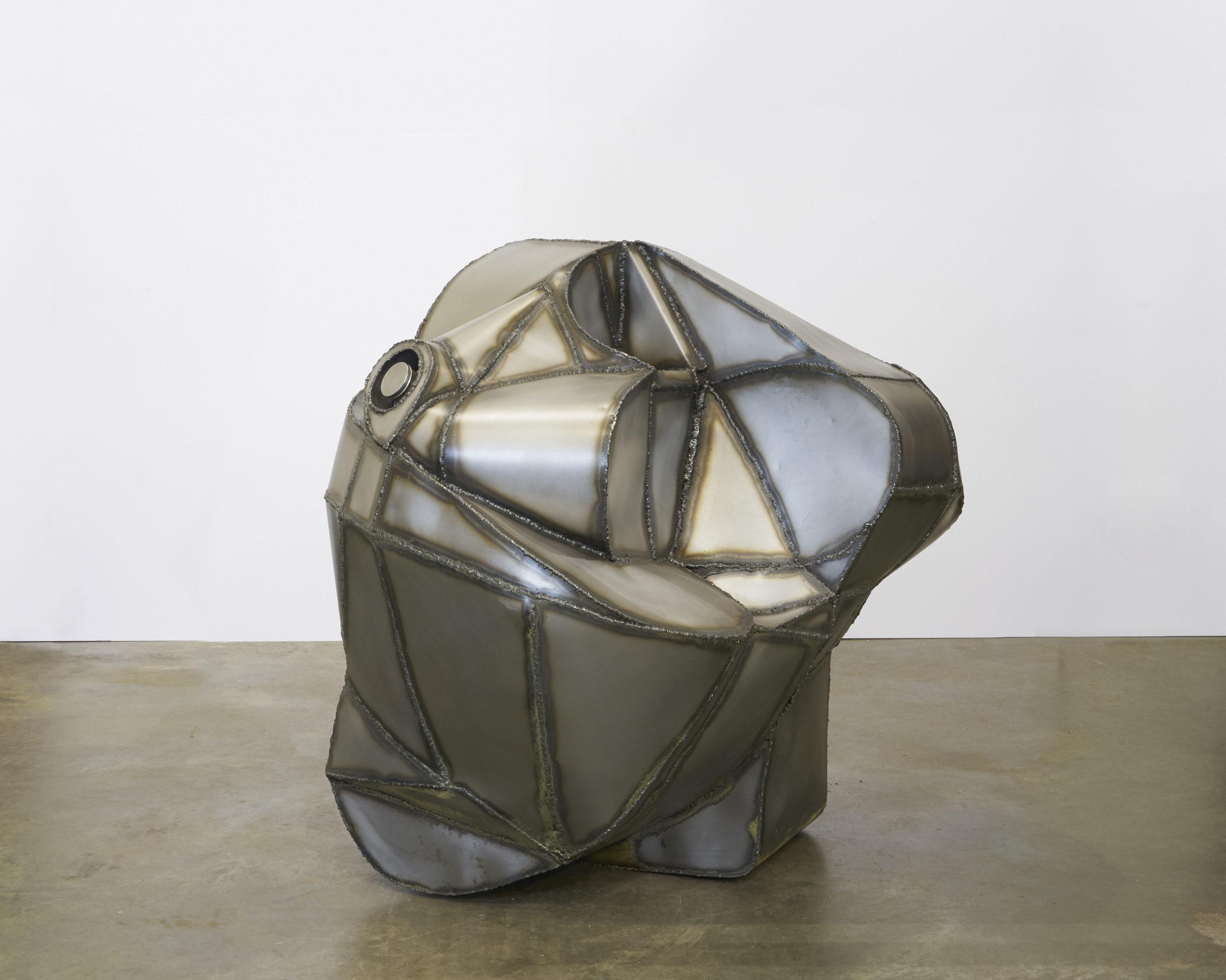 steel sculpture Aaron King 2021 art